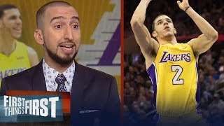 Nick and Cris talk Lonzo vs. Philly, LiAngelo and LaMelo signing with an agent | FIRST THINGS FIRST