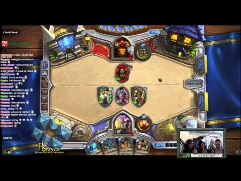 (TURNAJ Z RE-LOAD) Hearthstone : pRayer vs eSuba CzechCloud