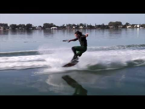 Sea-Doo - DOO IT with Ben Horan - Front Side Big Spin behind the Sea-Doo WAKE 155 PWC