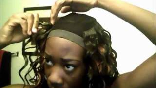 Invisible Part Quickweave W/ Equal Ripple Deep 4pcs. Part1