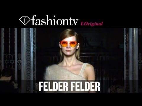 Felder Felder Fall/Winter 2014-15 | London Fashion Week LFW | FashionTV