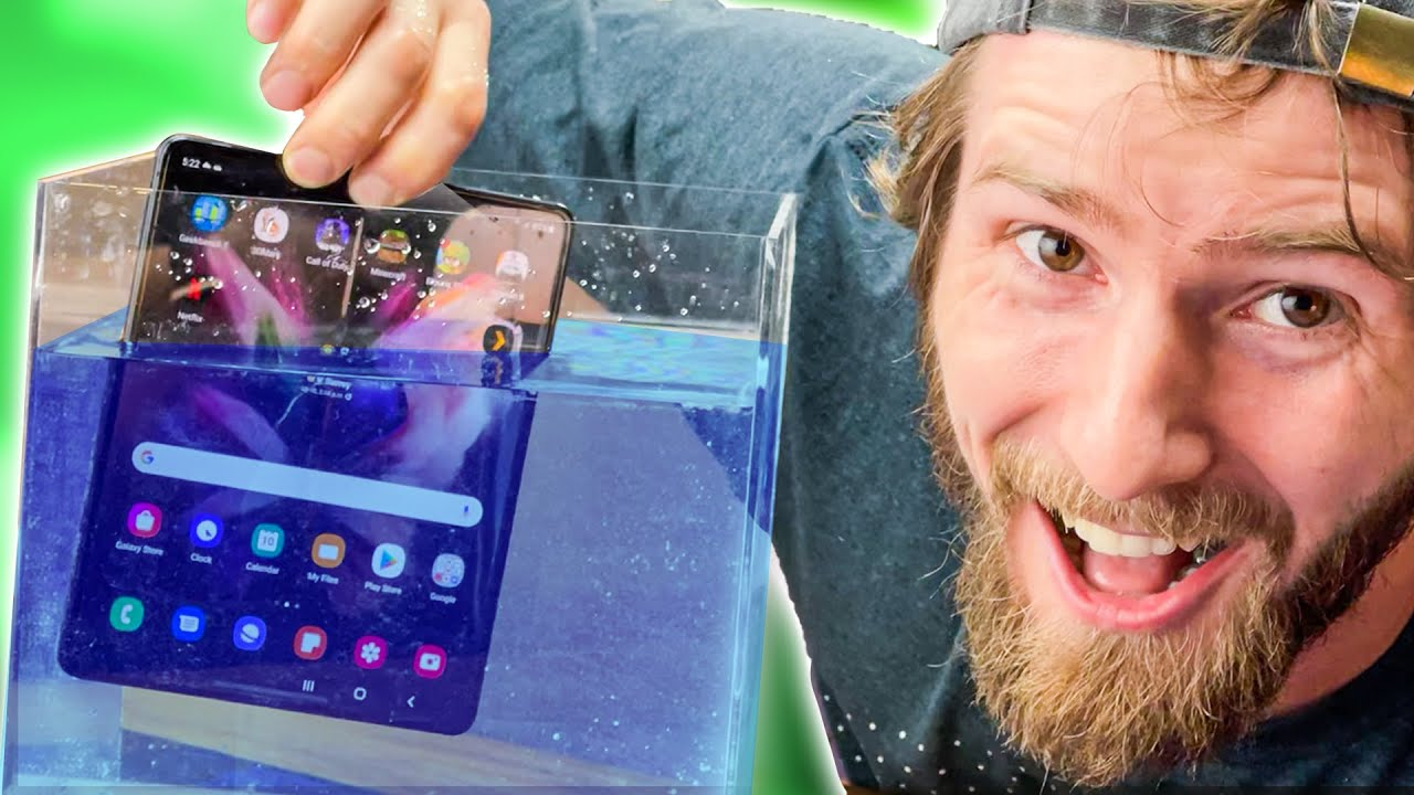 Is Samsung Trying To Impress Me?? - Galaxy Z Fold3 5G Early Look