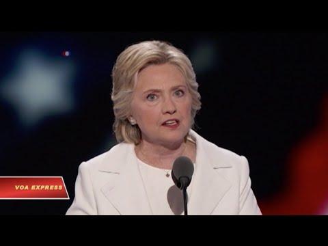 Ứng cử viên TT Hillary Clinton hứa xây dựng 'một ngày mai tốt đẹp hơn'