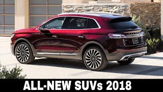 10 All New SUVs Going on Sale in 2018 2019 Interior and Exterior
