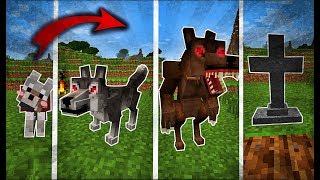 Cuộc đời của Chó Sói Trong MINECRAFT !!