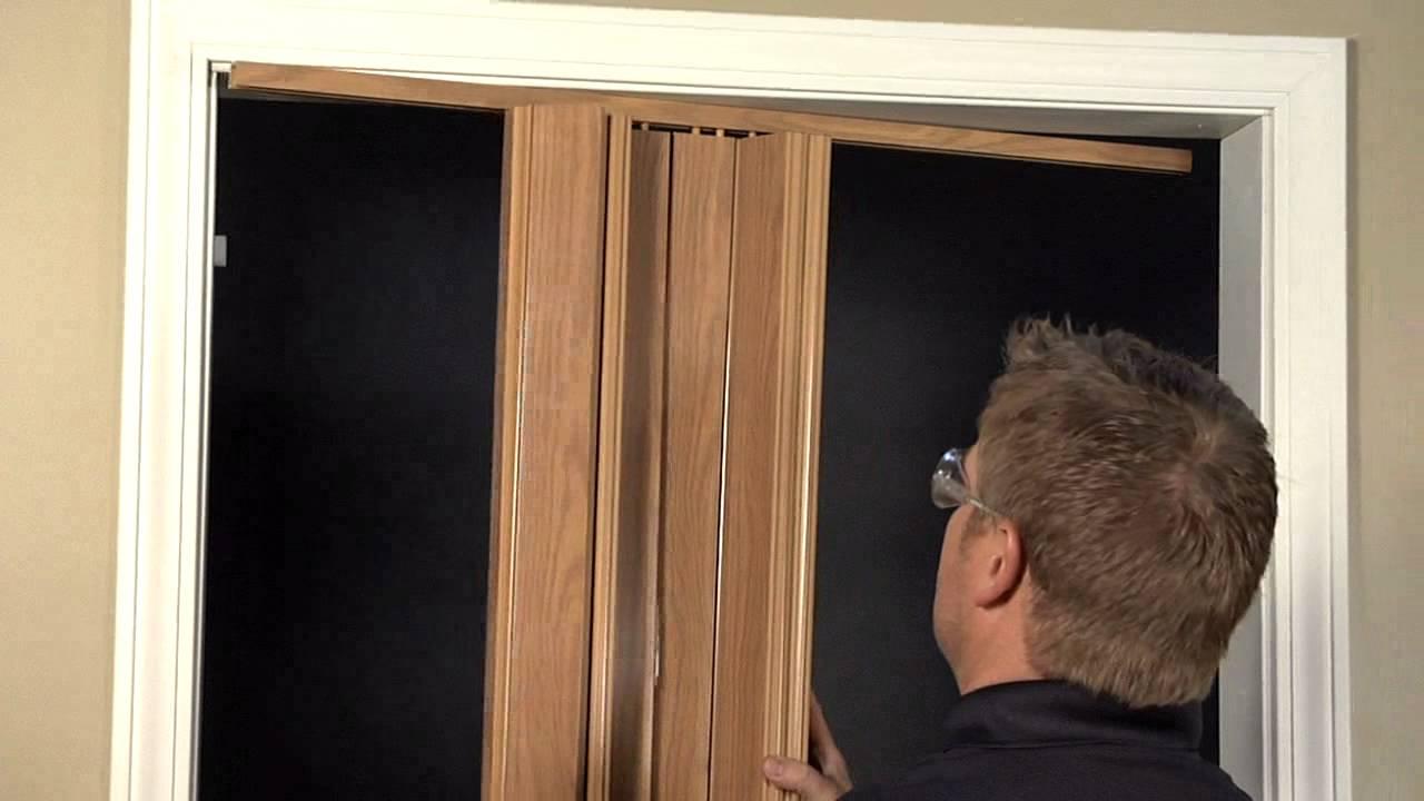 Bifold Door Installation : Folding doors encore installation