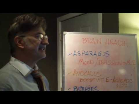 Simple steps for a healthier brain!