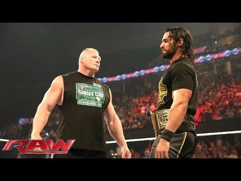 Brock Lesnar revient à Raw comme challenger n°1 le 15 juin 2015