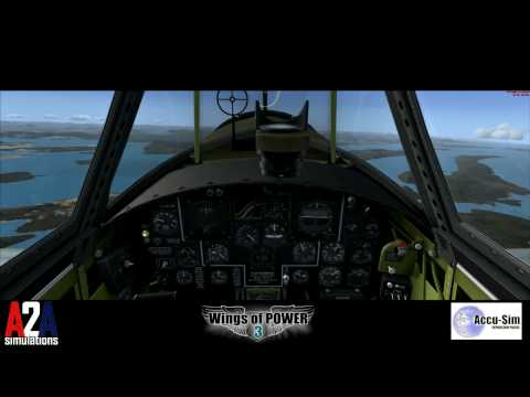 Part 3 of 4:  Wings of POWER 3 P-47 In-Flight Flaps Failure with Accu-Sim