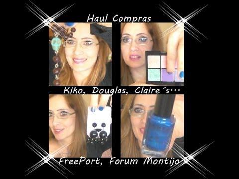 Haul Compras: Claire´s, Kiko, Modelo, Douglas, FreePort...
