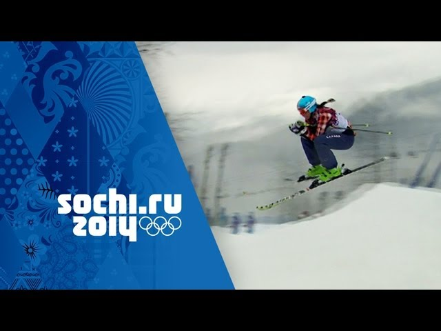 Freestyle Skiing - Ladies' Ski Cross - Seeding | Sochi 2014 Winter Olympics
