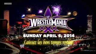 WWE Wrestlemania 30 (XXX) 1st Official Theme Song