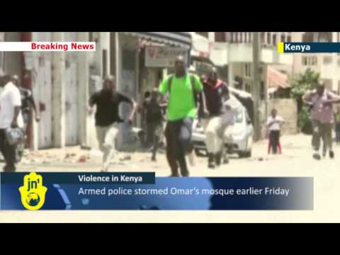 Violence in Kenya: Mombasa church set ablaze amid angry riots