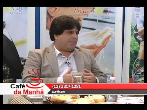 TV Costa Norte - Café com Marcelo Caldas Santos - engenheiro civil - Exibido em 27/08/2013, pela TV Costa Norte canal 48 UHF