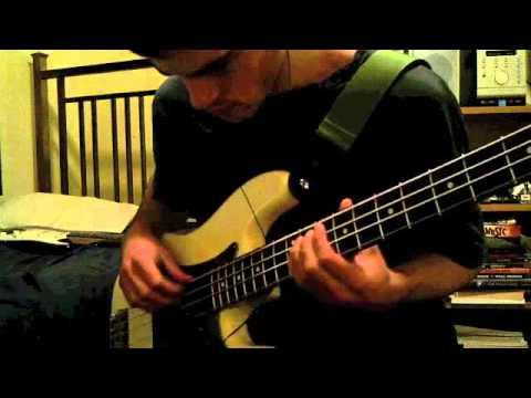 Radiohead - 15 Step Bass Cover