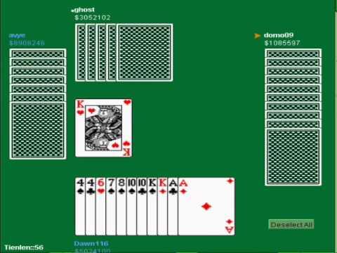 Tien Len (Thirteen Card Game)