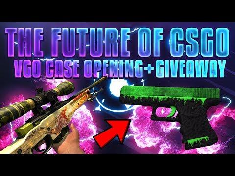 VGO CASE OPENING + $40 CSGO & VGO GIVEAWAY!