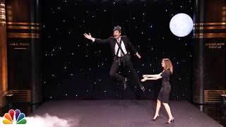 Jimmy Fallon Flying like Peter Pan