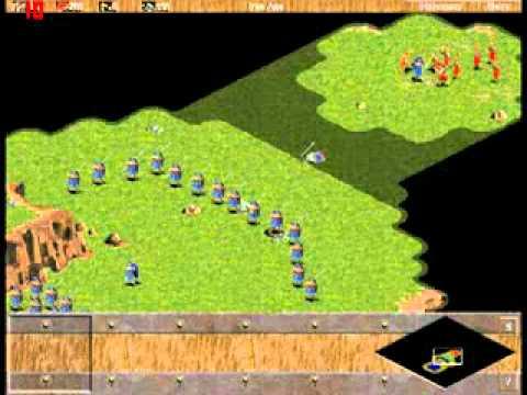 Game Thủ net   Phim  300 chiến binh  được dựng bằng game AoE   Phim  300 chien binh  duoc dung bang game AoE