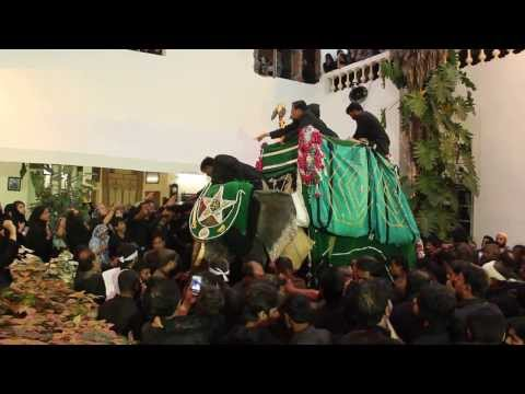 10th Moharrram hyderabad, Ashura, Bibi Ka Alam- Ali Lodge 2013-2014