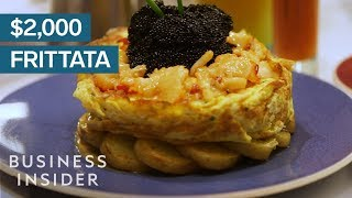 We Tried The $2,000 Frittata
