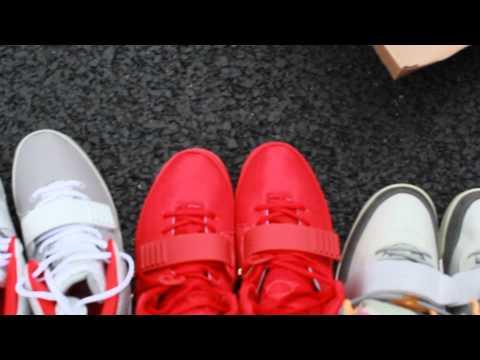 Awesome Nike Air Yeezy I Vs Nike Air Yeezy II
