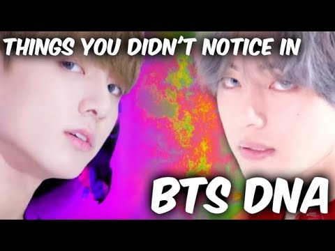 Things You Didn't Notice In BTS DNA / Fangirl Version