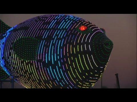 Trung Quốc chi 11 triệu đô xây đài quan sát hình cá nóc