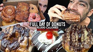 10,000 Calorie Dompierre Donut Challenge | Wicked Cheat Day #45
