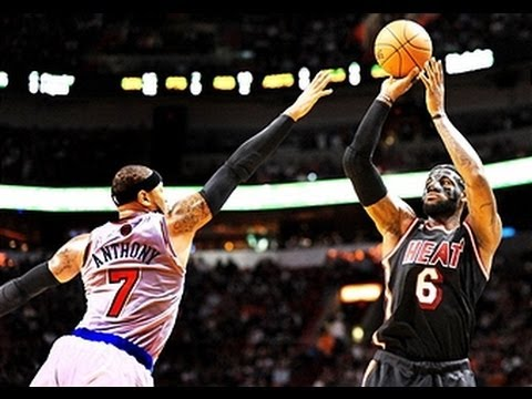 Duel: LeBron James vs Carmelo Anthony