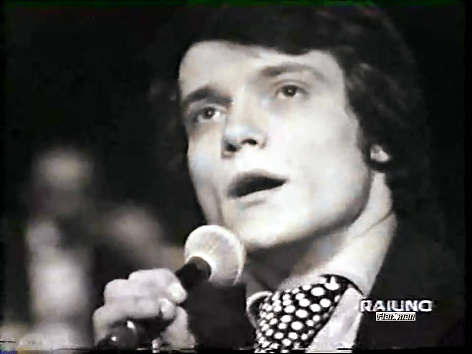 massimo ranieri erba di casa mia 1972 video audio