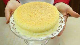 COTTON CHEESECAKE (Cheesecake Giapponese) - Homemade Japanese Cheesecake