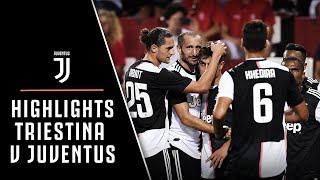 HIGHLIGHTS   TRIESTINA 0-1 JUVENTUS