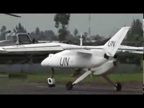 UN mission launches first surveillance drone