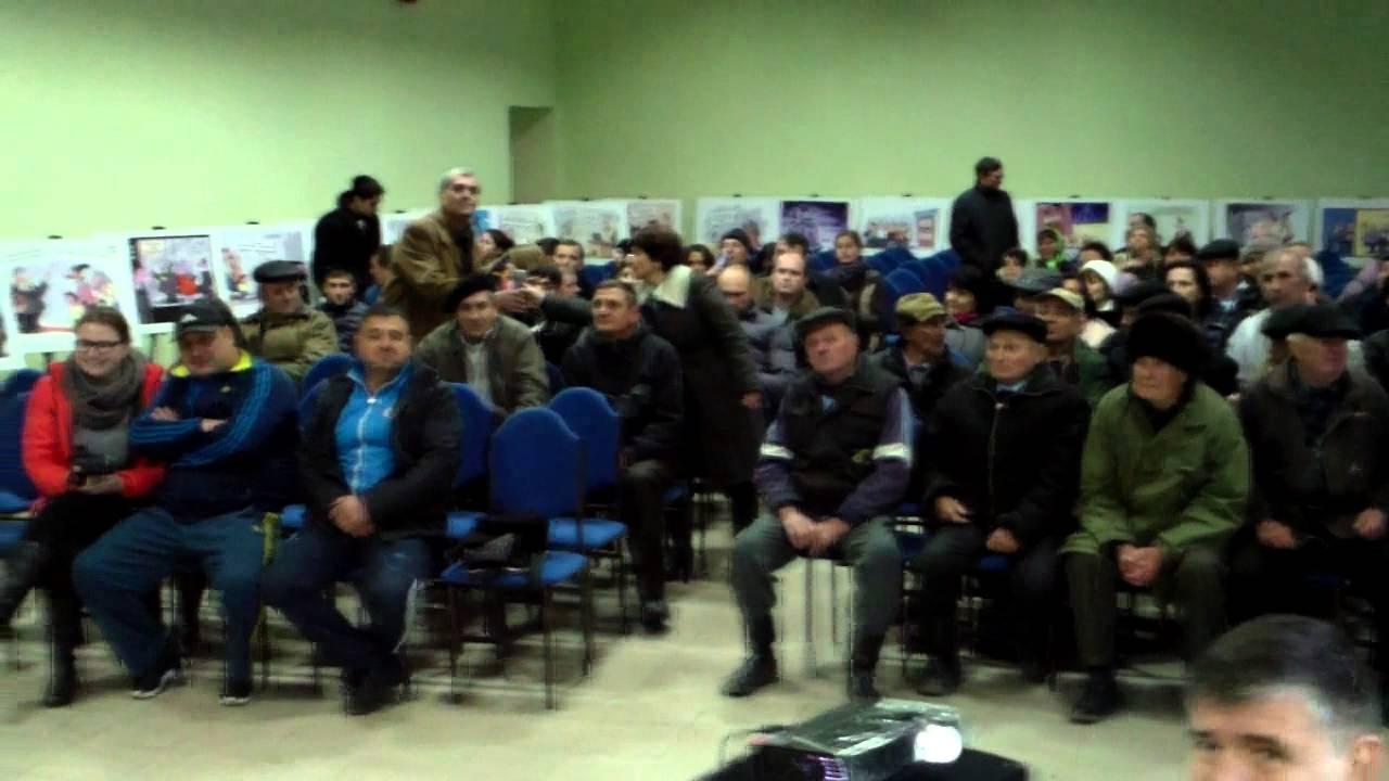 Dezbateri electorale dure la Ruseștii Noi, Ialoveni
