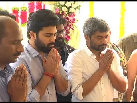 Sharwanand and Anil Ravipudi Movie Opening Video