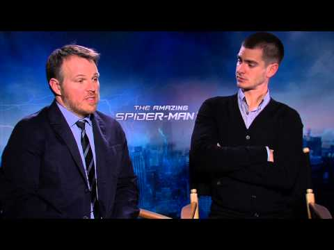 The Amazing Spider-man 2 interview w/ Andrew Garfield and Marc Webber