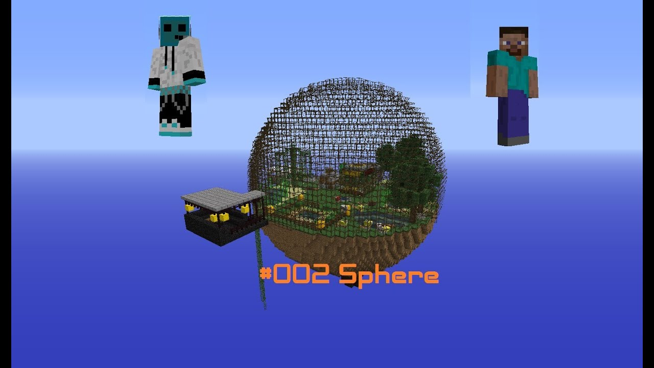 Minecraft Sphere Related Keywords Suggestions Diagram 002 Co Op Youtube