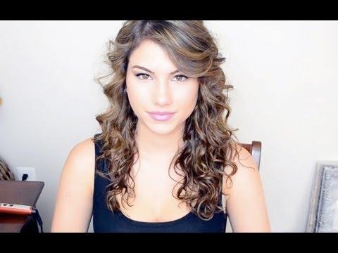 Taylor Swift Hair Tutorial (Curly Hair) - YouTube
