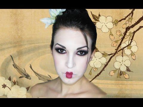 Maquillaje de Geisha. Geisha makeup tutorial, ¡Este es el último vídeo que subiré para los Carnavales de este año! ¡Es un maquillaje de geisha bastante rápido de hacer y nada complicado! Espero que os gu...