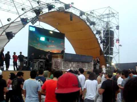 Sander Kleinenberg - Live @ Inti Fest, Playa Asia - Peru (16-01-2010) Pt1