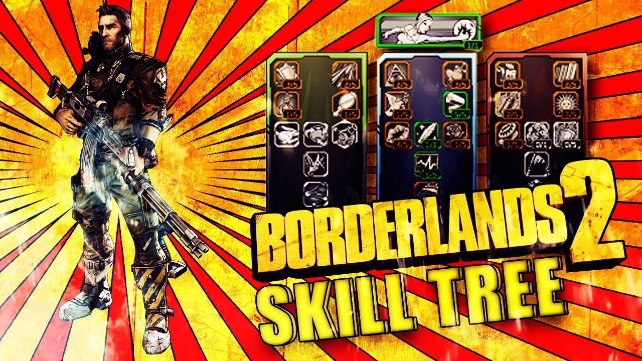 Borderlands 2 axton commando skill tree german deutsch analyse und