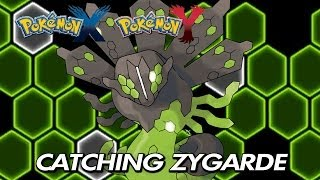 Pokemon X & Y Catching Legendary Zygarde / Location