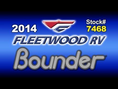 2014 New Fleetwood Bounder Classic 36H Class A Gas Motorhome