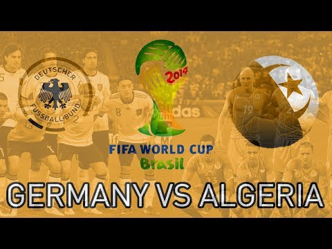 FIFA WORLD CUP 2014 KNOCKOUT ALGERIA VS GERMANY (ZwebackHD)