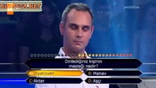 Kim Milyoner Olmak Ister 244. bölüm Ömer Özcan 26.06.2013