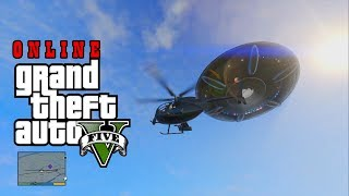 GTA V Easter Egg Localização Do UFO FIB, Deserto Grand