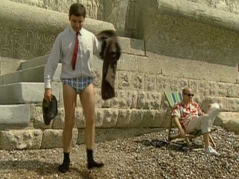 Mr Bean - At the Beach