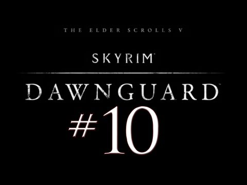 Skyrim Dawnguard DLC PC Walkthrough / Gameplay Part 10 - The Dragon that Stood No Chance