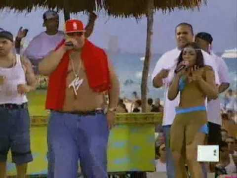 fat joe f/ ashanti - what's luv / whats love spring break 2002 live